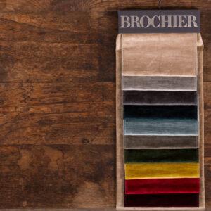 BROCHIER velvet fabrics for home decoration | Tessuti arredo in velluto